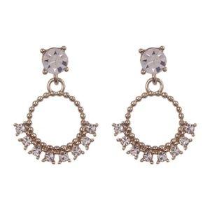 Marchesa Crystal Drop Earrings